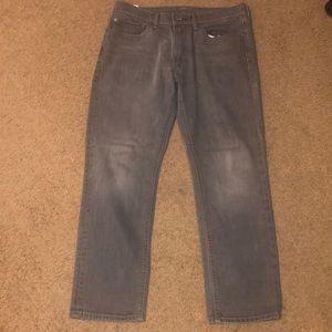 Levi's 541 Athletic Taper Men's Grey Jeans 34W 30L